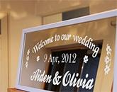 UJF-7151 plus: Wedding board